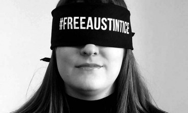 Demonstration in support of Austin Tice