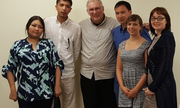 Kazakh Journalists Meet With Chapter Leaders