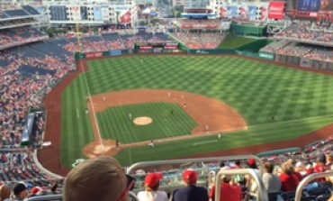 SPJ DC Watched the Loooong Nats v. Reds Game
