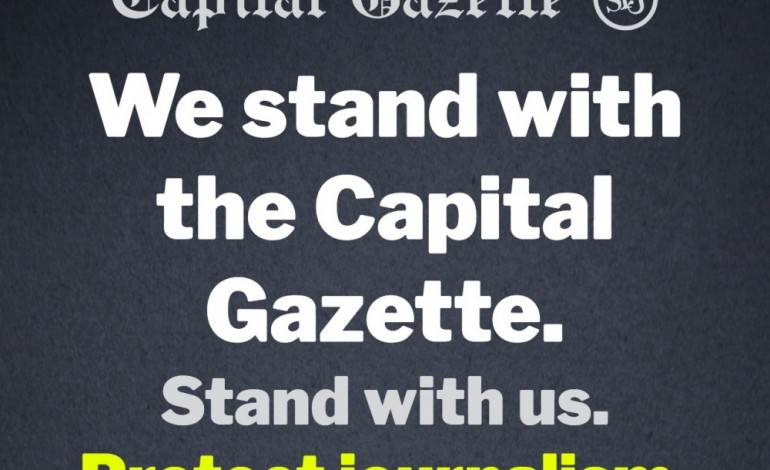 SPJ DC Pro expresses support for Capital Gazette newspaper